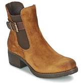 Casual Attitude  DOUNATE  women's Low Ankle Boots in Brown