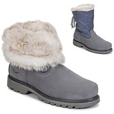 Caterpillar  BRUISER SCRUNCH FUR  women's Mid Boots in Grey