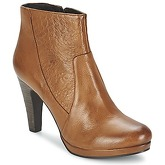 SPM  DITAAG  women's Low Ankle Boots in Brown