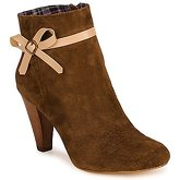 Chocolate Schubar  PEBBIE  women's Low Ankle Boots in Brown