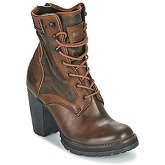 Bunker  ACE RAP  women's Low Ankle Boots in Brown