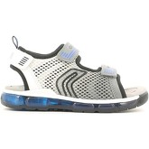 Geox  J620QB 014CE Sandals Kid Grey  men's Sandals in Grey