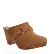 Office Wildwood Clog TAN NUBUCK