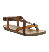 Blowfish Granola Sandal DESERT SAND WHISKEY BRONZE