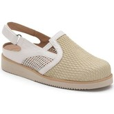 Calzamedi  VERANO PALA ELASTICA  women's Clogs (Shoes) in Beige