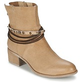 SPM  MOUSE  women's Low Ankle Boots in Brown
