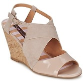 Chocolate Schubar  ELVINA  women's Sandals in Beige