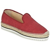 Anaki  MALIBUN  women's Loafers / Casual Shoes in Red