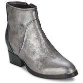 Catarina Martins  METAL DAVE  women's Low Ankle Boots in Silver