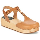 Swedish hasbeens  RING-SANDAL  women's Clogs (Shoes) in Brown
