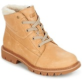 Caterpillar  FRET FUR  women's Mid Boots in Beige