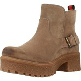 Oii!  5009O  women's Low Ankle Boots in Beige