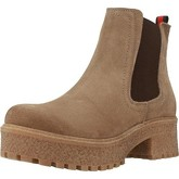 Oii!  5010O  women's Low Ankle Boots in Beige