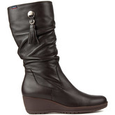 CallagHan  CLIVIA W 97421 BOOTS  women's Mid Boots in Brown