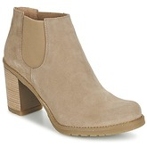 Casual Attitude  FOUMAS  women's Low Ankle Boots in Beige