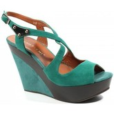 Bruno Premi  s-7402 woman crossed straps sandals  women's Sandals in Green