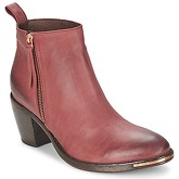 Catarina Martins  KROLL  women's Low Ankle Boots in Red