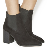 Office Logan Point Chelsea Boots BLACK