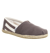 Toms University Espadrill GREY
