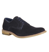 Office Bhatti Plain Toe NAVY SUEDE