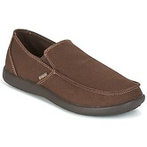 Crocs  SANTA CRUZ CLEAN CUT LOAFER  men's Loafers / Casual Shoes in Brown