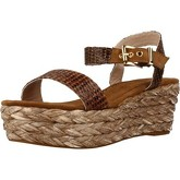Alma En Pena  RAFIA  women's Sandals in Brown