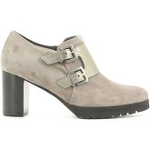 Grace Shoes  255 Ankle boots Women Fucile  women's Low Ankle Boots in Grey