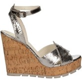 Apepazza  FRT47 Wedge sandals Women Silver  women's Sandals in Silver