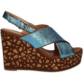 Bruno Premi  K5300P Wedge sandals Women Turquoise  women's Sandals in Blue
