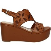 Bruno Premi  K3903P Wedge sandals Women Brown  women's Sandals in Brown