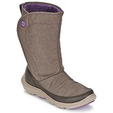 Crocs  DUET BUSY DAY BOOT  women's Mid Boots in Brown