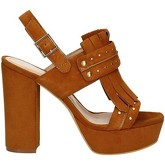 Bruno Premi  K2603P High heeled sandals Women Brown  women's Sandals in Brown