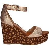 Bruno Premi  K5301P Wedge sandals Women Brown  women's Sandals in Brown