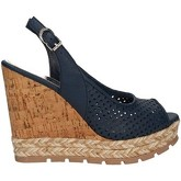 Apepazza  FRT48 Wedge sandals Women Blue  women's Sandals in Blue