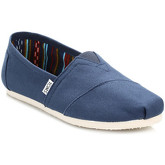 Toms  Mens Navy Canvas Classic Espadrilles  men's Slip-ons (Shoes) in Blue