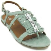 Alma En Pena  Alpe 3723 Sandals for Women  women's Sandals in Green