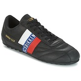 Bikkembergs  SOCCER 2102 LEATHER  men's Shoes (Trainers) in Black
