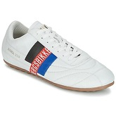 Bikkembergs  SOCCER 2102 LEATHER  men's Shoes (Trainers) in White
