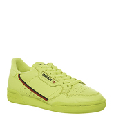 Adidas Continental 80s SEMI FROZEN YELLOW SCARLET COLLEGIATE NAVY
