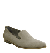 Ask the Missus Grazie Loafer MUSHROOM SUEDE