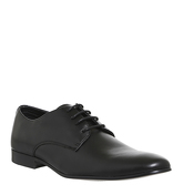 Office Flounder Derby BLACK LEATHER