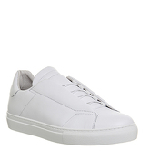 Poste Elliot Low Sneaker WHITE LEATHER