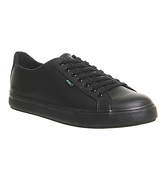 Kickers Tovni Lacer Sneaker BLACK LEATHER