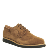 Ask the Missus Energy Wedge Sole RUST SUEDE