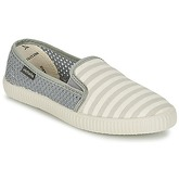 Victoria  SLIP ON RAYAS/REJILLA  men's Slip-ons (Shoes) in Grey
