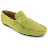 J.bradford  Loafer  Pistachio Leather JB-ROBE  men's Loafers / Casual Shoes in Green
