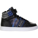Björn Borg  - T210 Mid Cam - Black Multi  men's Shoes (High-top Trainers) in Black