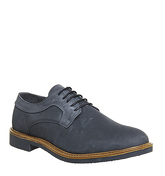 Ask the Missus Giant Chunky Derby NAVY NUBUCK