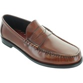 Base London  Strike  men's Loafers / Casual Shoes in Brown