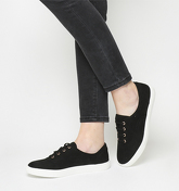 Office Freda Lace Up BLACK